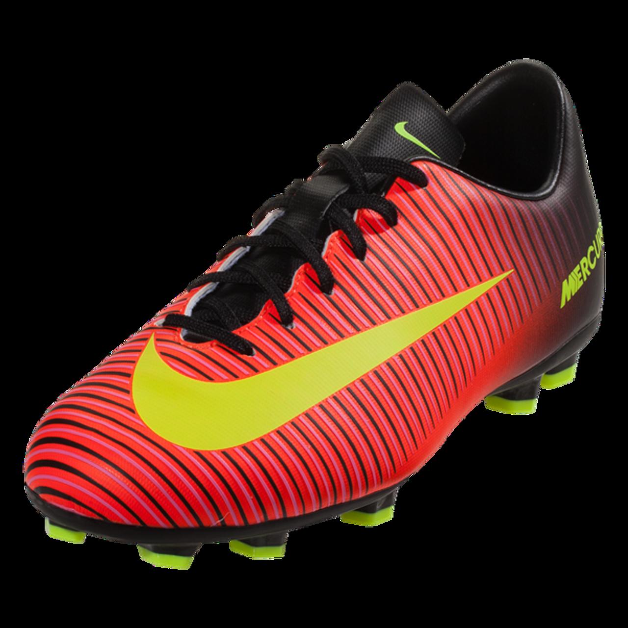 27f7d9e4ba96 Nike Jr Mercurial Vapor XI FG - Total Crimson Volt Black Pink Blast RC -  ohp soccer