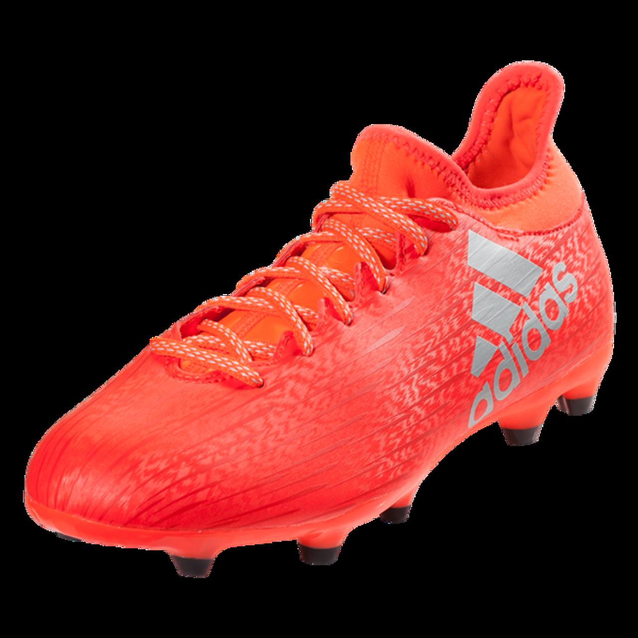 adidas X 16.3 FG - Solar Red (11917) - ohp soccer 6c9202815972
