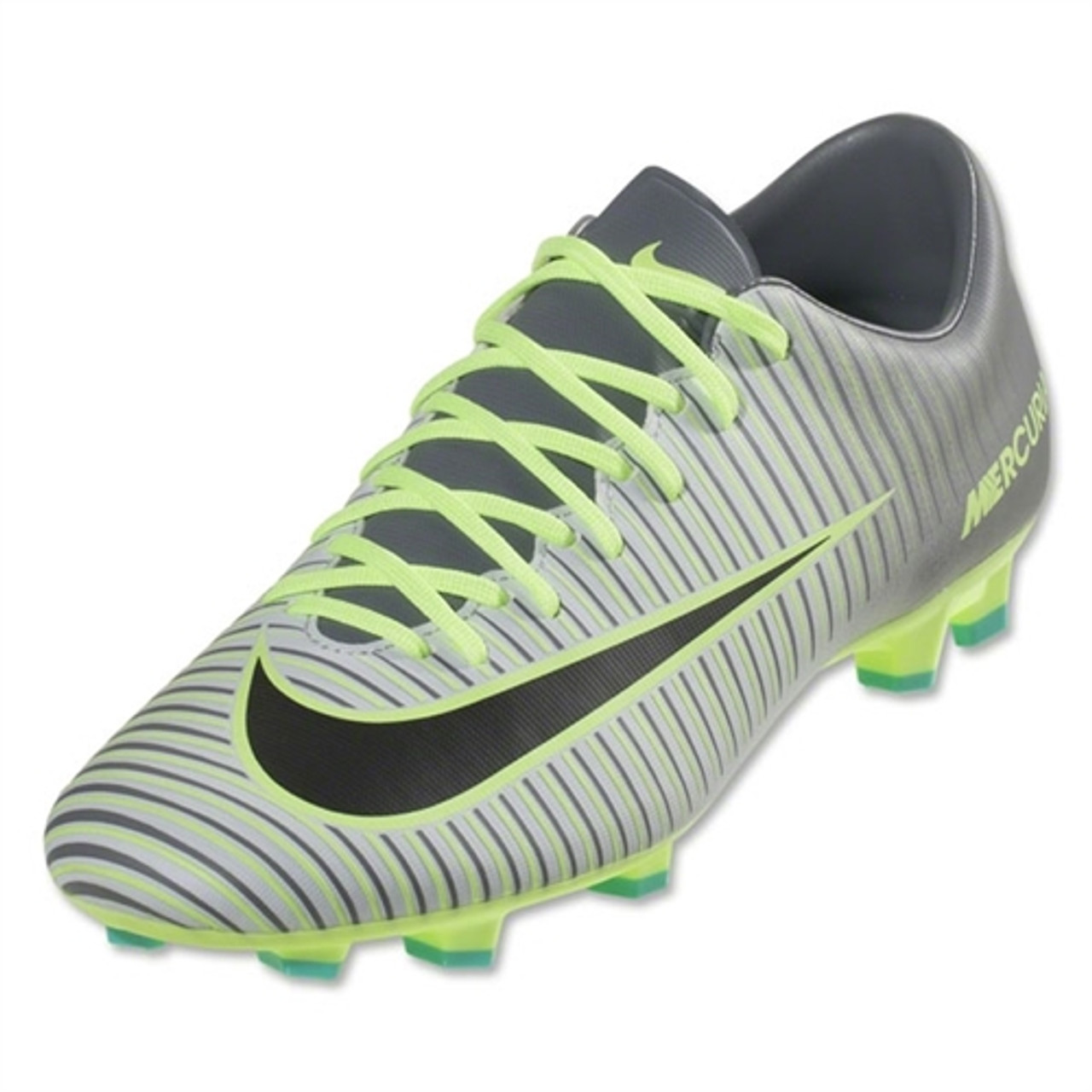 42f0500f0eac Nike Mercurial Victory VI FG - Pure Platinum Black Ghost Green (123016) -  ohp soccer