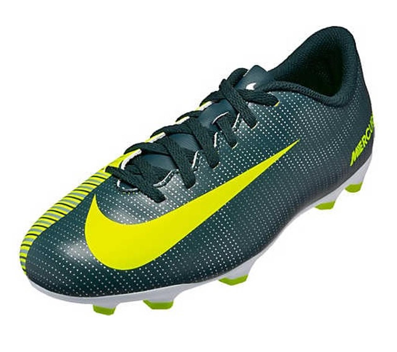 dbad5d18a Nike Jr Mercurial Vortex III CR7 FG - Seaweed Volt Hasta White SD (5718) -  ohp soccer