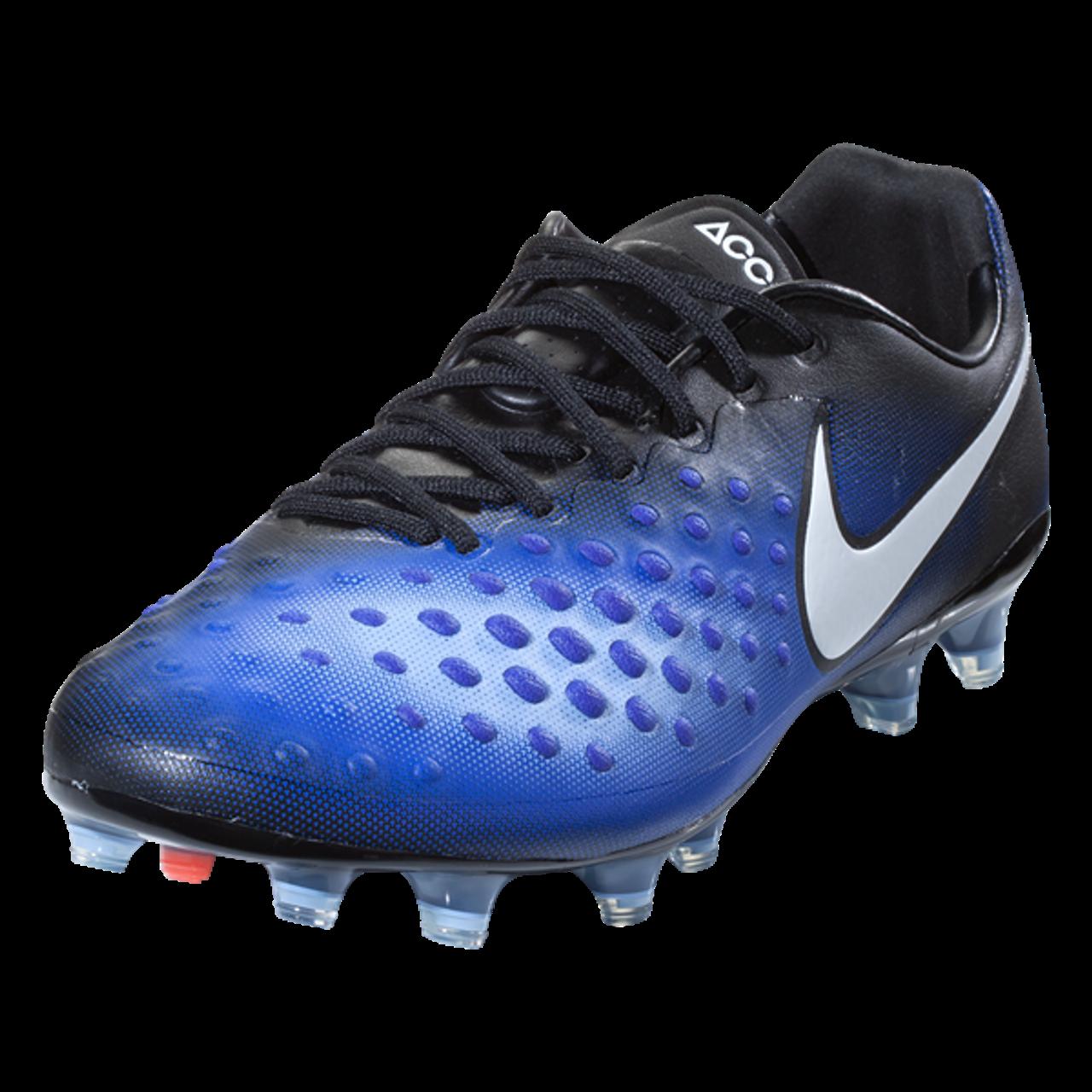 ebdc6f669402 Nike Magista Opus II FG - Black/White/Paramount Blue/Aluminum - ohp soccer