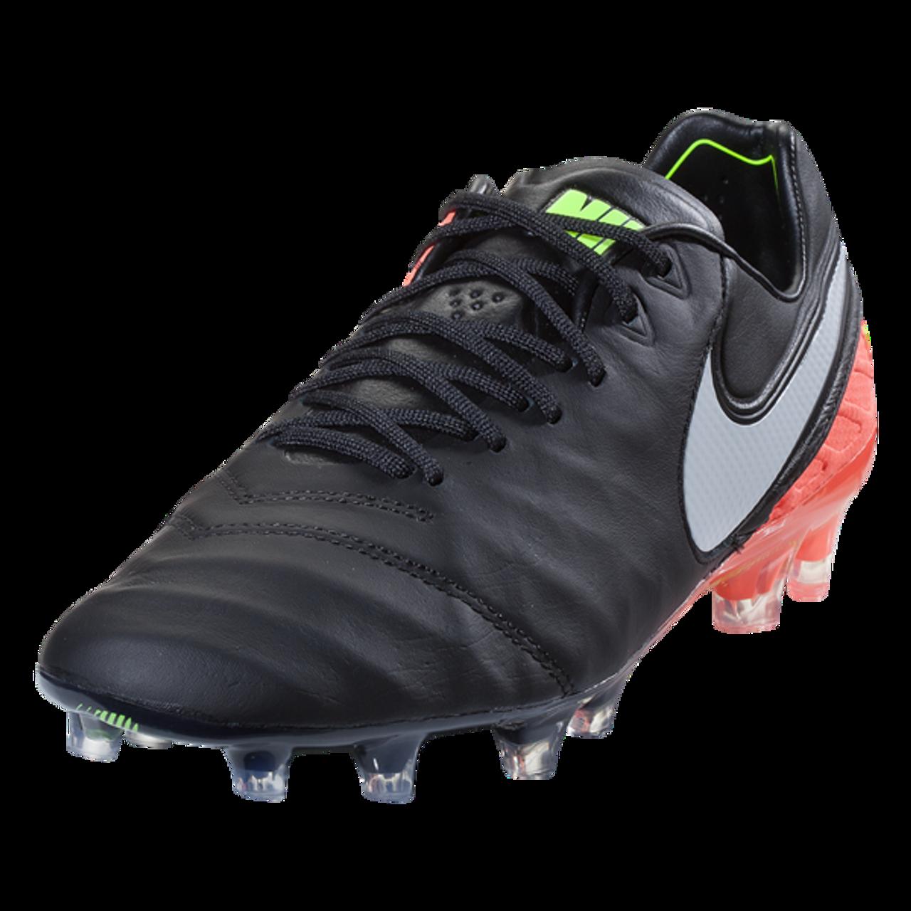 c8195498645b Nike Tiempo Legend VI FG - Black White Hyper Orange Volt (112917) - ohp  soccer