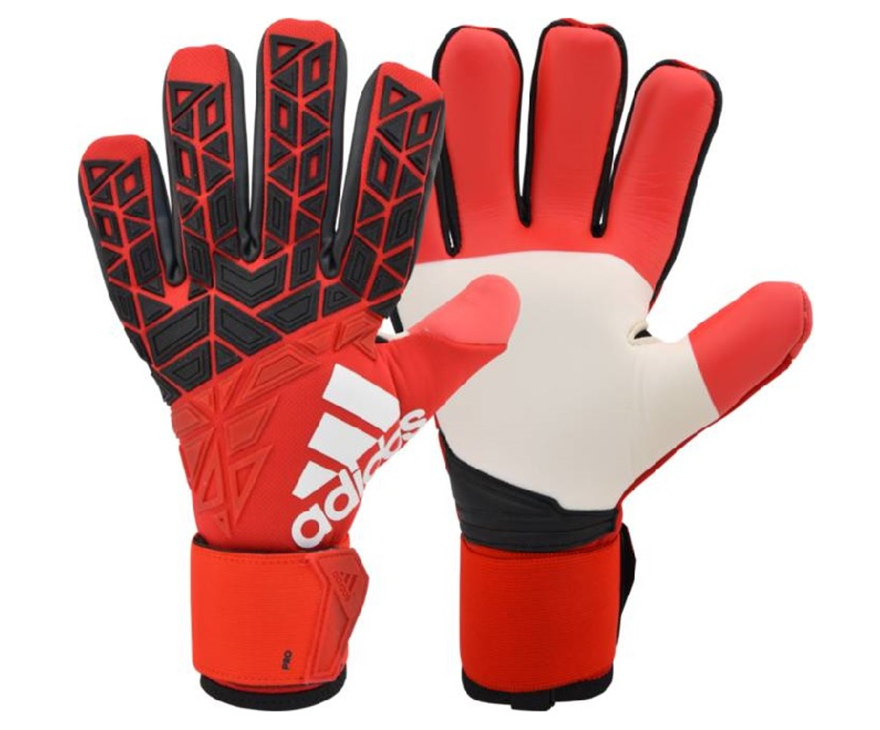 new arrival e416f 2cb7c adidas Ace Trans Pro GK Glove - Red Black White