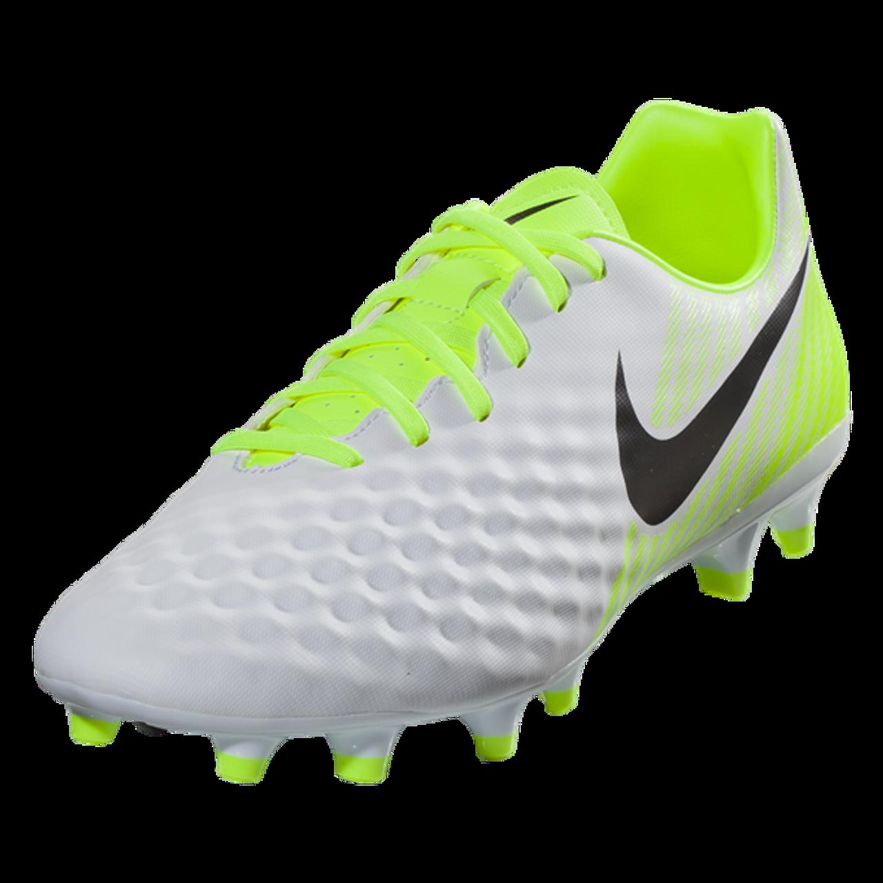 55dac7c54311 Nike Magista Onda II FG - White Black Volt Pure Platinum SD (111617) - ohp  soccer