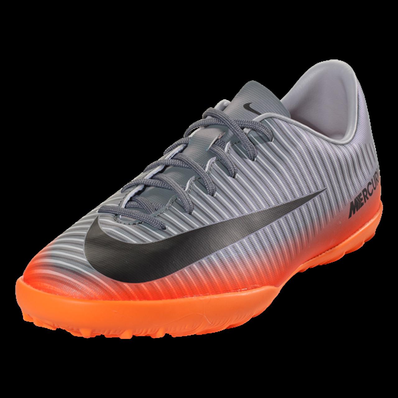d587cf946 Nike Jr MercurialX Victory 6 CR7 TF - Cool Grey/Metallic Hematite/Total  Orange (5117) - ohp soccer