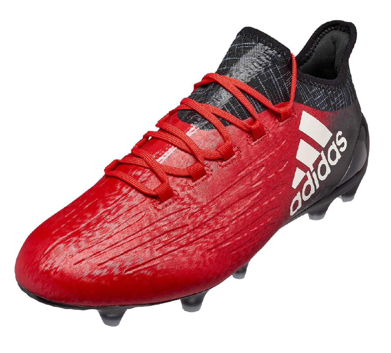 adidas X 16.1 FG - Red  White Core Black (10717) - ohp soccer 40291fb136043
