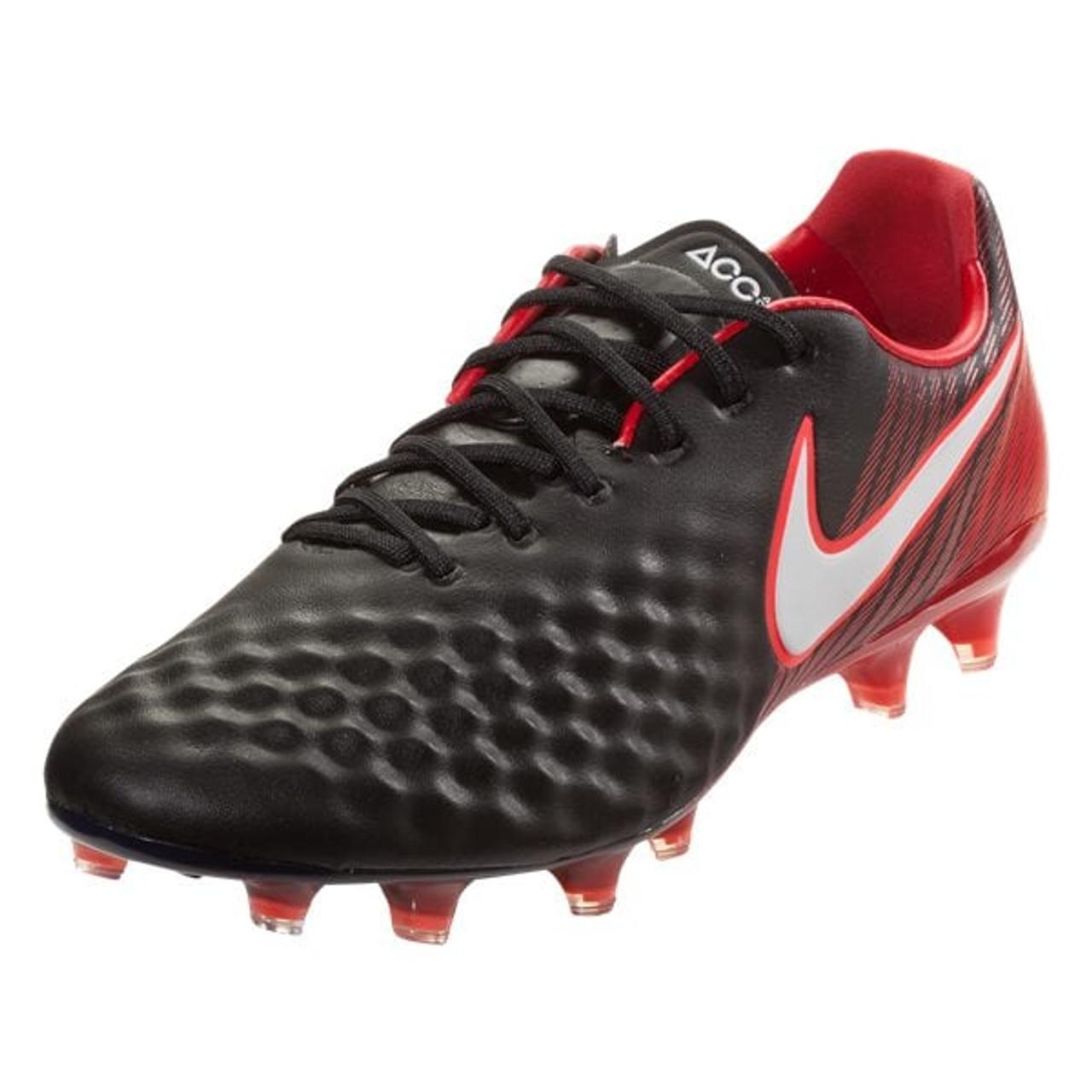 Nike Magista Opus II FG - Black White University Red (41618) - ohp soccer 38b00b15d