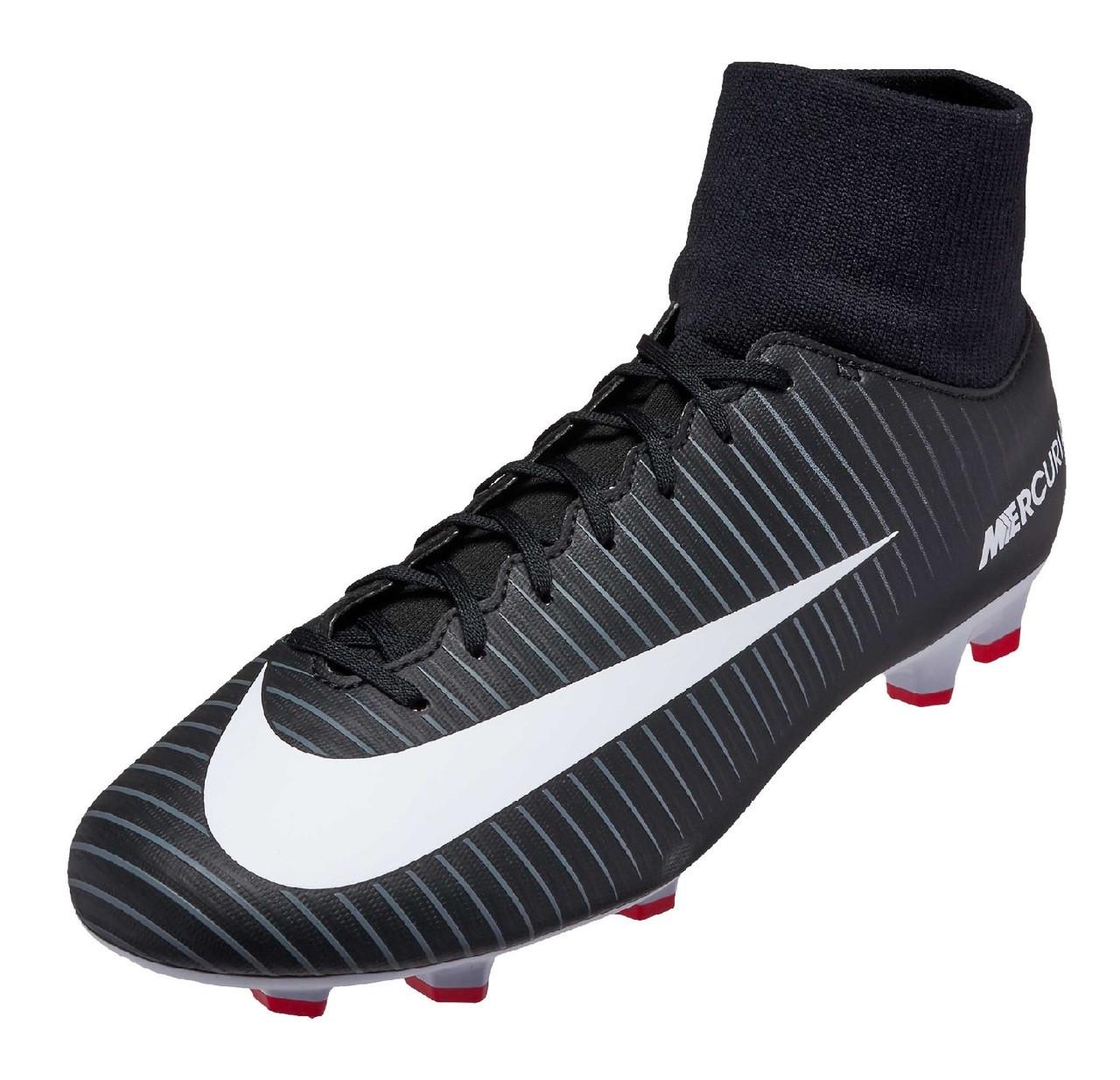 Nike Mercurial Victory VI DF FG - Black White Dark Grey (32618 ... 34305f387