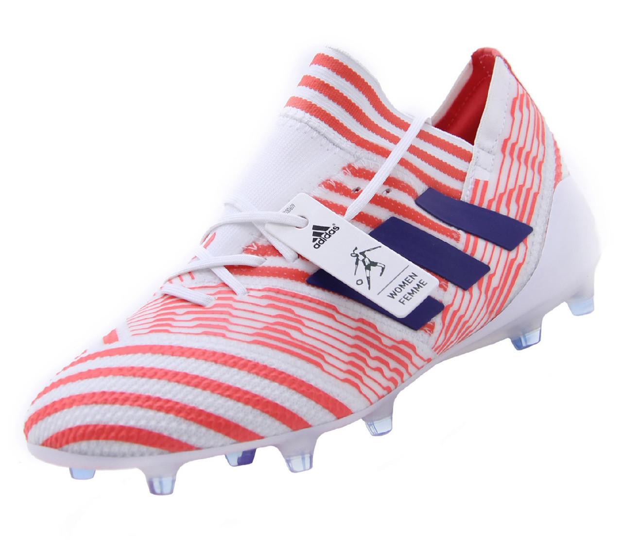 całkowicie stylowy sprzedaż obuwia ceny odprawy Adidas Nemeziz 17.1 FG W - White/Mystery Ink/Easy Coral