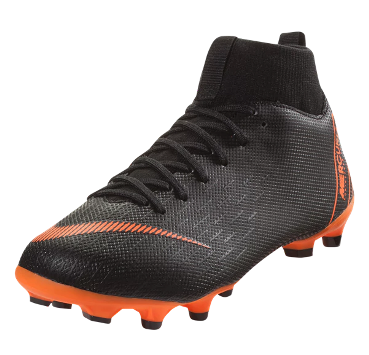 a2969c7b8b8a Nike Jr. Superfly 6 Academy GS MG - Black/Total Orange/White (3318) - ohp  soccer