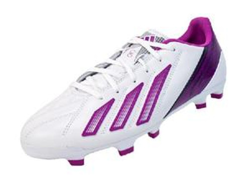 adidas Wmns Leather F30 TRX FG - White/Vivid Pink/Urban Sky SD (1516)
