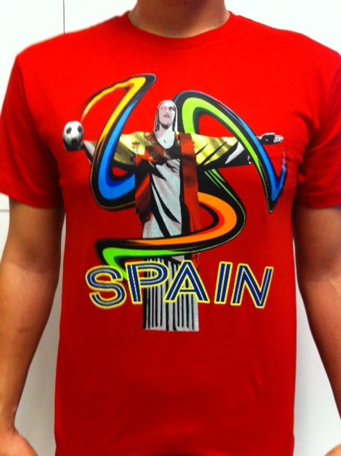 SIK Spain Tee WC 2014 - Red SD (52918)