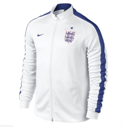 Nike N98 England Authentic Track Jacket - White/Blue (6318)