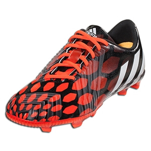 adidas JR Predator Instinct FG - Black/Solar Red SD (21517)