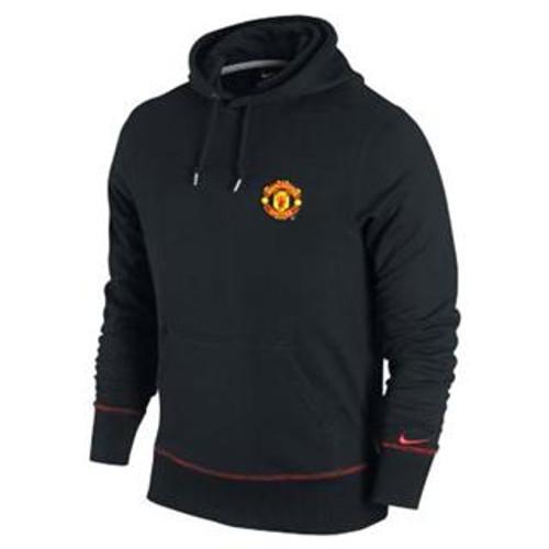 Nike Manchester United Hoodie - Black