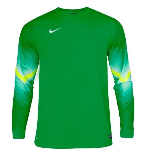 Nike LS Goleiro  Youth Goalie Jersey - Green