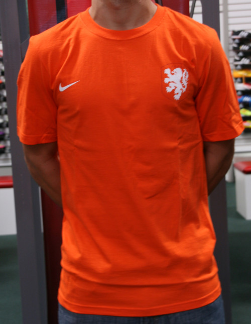 Nike Holland Supporter Men's T-Shirt - Orange