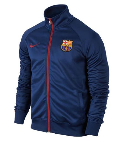 Nike Barcelona Core Trainer Jacket - Loyal Blue/Red
