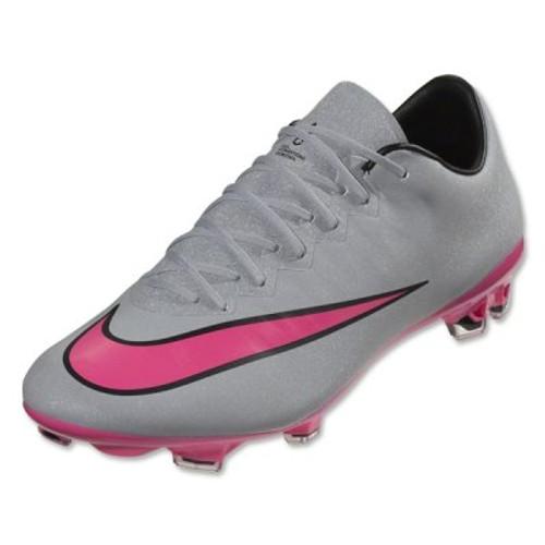 sale retailer ed6e0 d7116 Nike Mercurial Vapor X FG - Wolf Grey Black Hyper Pink SD (6117
