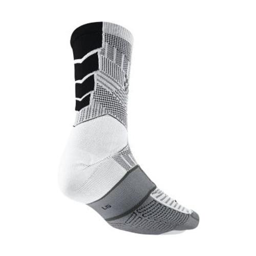 Nike Elite Match Fit Cushioned Sock - Grey/Black