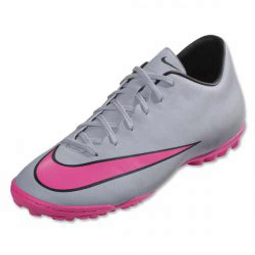 hot sale online 97d79 989b0 Nike Mercurial Victory V TF - Wolf Grey Hyper Pink Black - ohp soccer