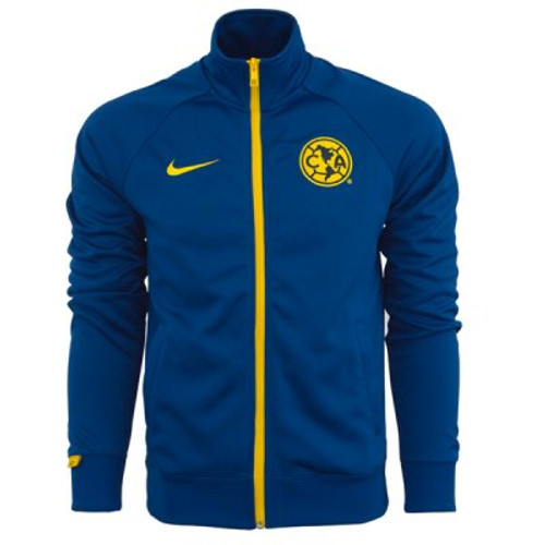 3c7d0bed487 Nike Club America Core Jacket - Gym Blue Yellow - ohp soccer
