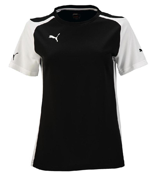 PUMA Womens Speed Jersey - Black/White