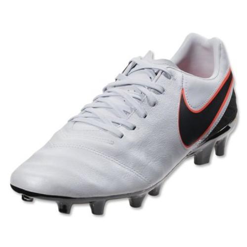 f849bfa06aa4 Nike Tiempo Mystic V FG - Pure Platinum Black Metallic Silver Hyper Orange
