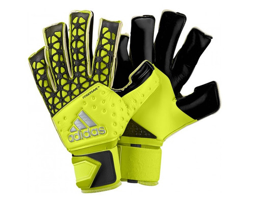 adidas Ace Zones Allround Fingersave Gloves - Solar Yellow/Black