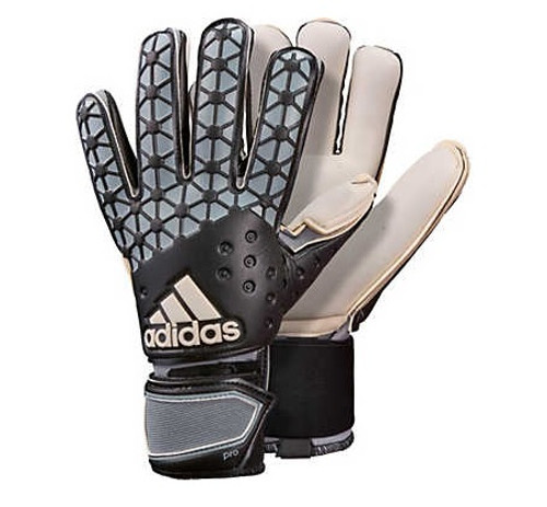 adidas Ace Pro Classic Gloves - Dark Grey/Black RC