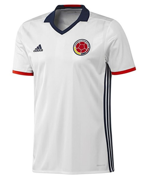 Adidas Mens Colombia Home Jersey - White/Navy/Red (52818)