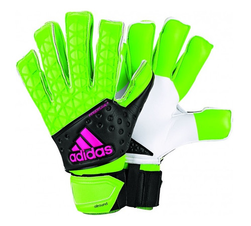 Adidas Ace Zones Fingersave Allround - Solar Green/Core Black/Shock Pink