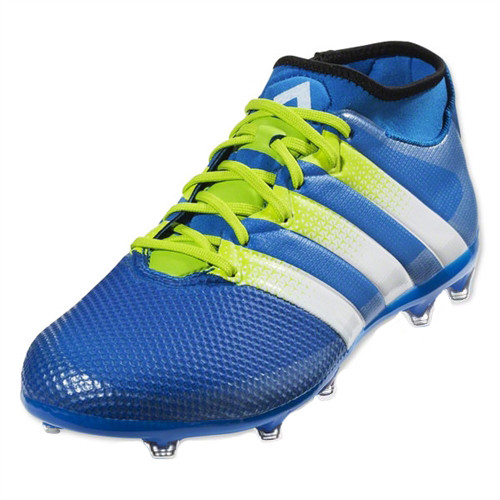 Adidas Ace 16.2 Primemesh FG/AG - Shock Blue/True White/Semi Solar Sl
