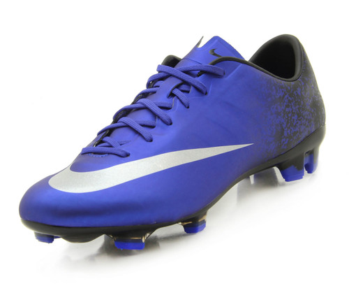 Nike Mercurial Veloce II CR FG - Deep Royal Blue/Racer Blue/Black/Metallic Silver (100518)