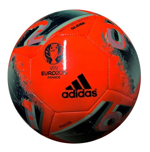 adidas Glider Match Ball EuroCup2016 - Orange/Faded Grey