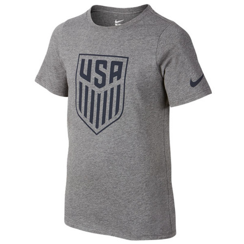 Nike Youth USA Crest Tee - Charcoal