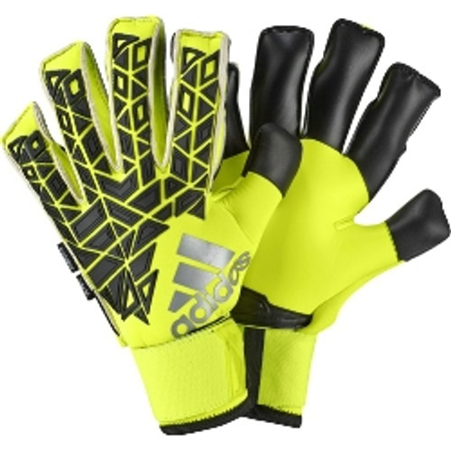 adidas Ace Trans Fingersave Pro Keeper Glove - Black/Solar Yellow