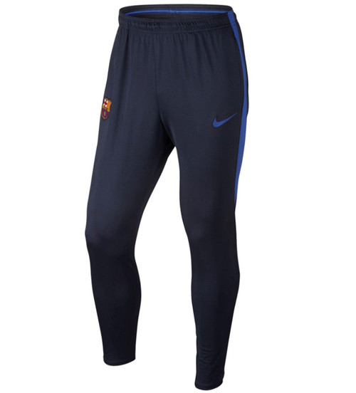 Nike Youth FC Barcelona Squad Pant - Obsidian/Royal Blue (41618)