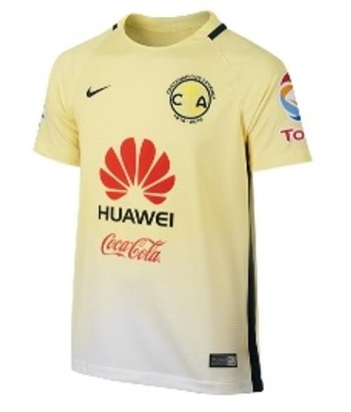 promo code d0d3b 14a3b Nike Youth Club America Home Jersey 16/17 - Yellow/Blue