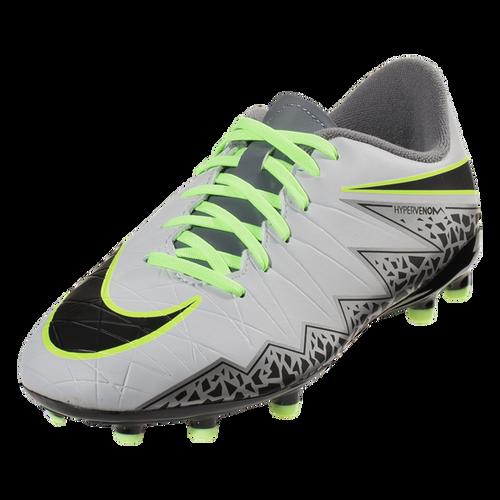 Nike Hypervenom Phelon II FG -  Pure Platinum/Black/Ghost Green/Cool Grey/Metallic Silver/Clear Jade (123016)