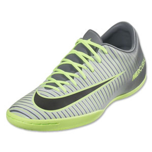 official photos b241f c1f4e Nike MercurialX Victory VI IC - Pure Platinum/Black/Ghost Green (123016)