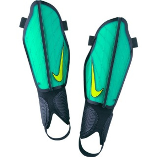 Nike Protegga Flex Football Shin Guards - Clear Jade/Black/Volt