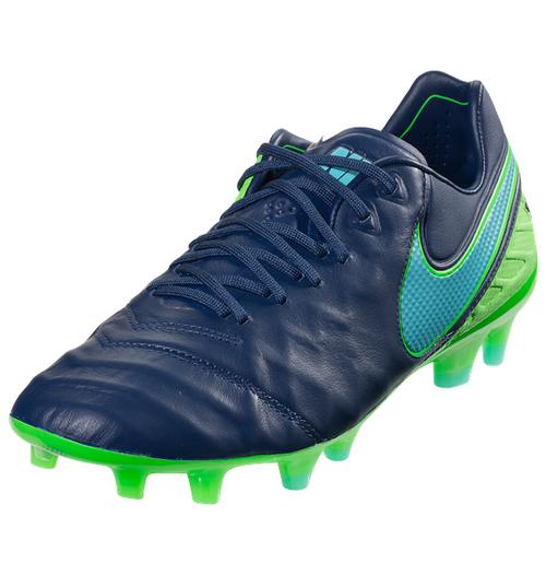 sports shoes 93433 b4915 Nike Jr Tiempo Legend VI FG - Coastal BlueRage GreenPolarized Blue