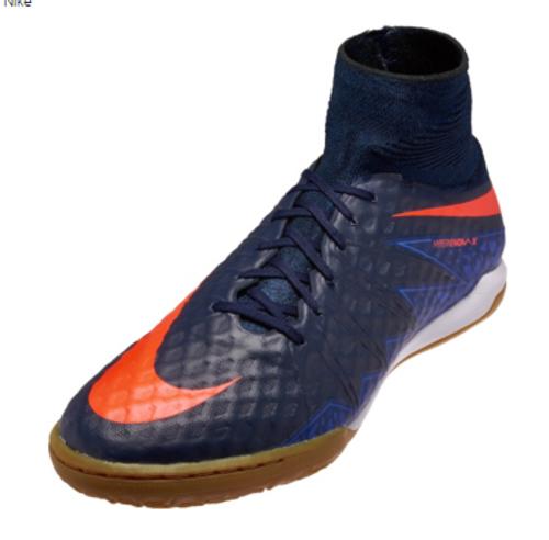 promo code 6fa4c 1ec3a Nike HypervenomX Proximo IC - Obsidian Coastal Blue Total Crimson (3618)