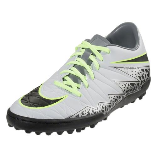 Nike Hypervenom Phelon II TF - Pure Platinum/Black/Ghost Green (111617)