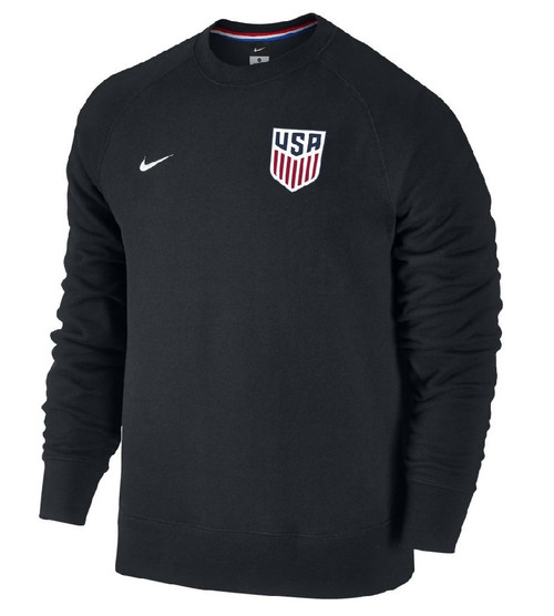 Nike Men's USA AW77 Authentic Crew - Black