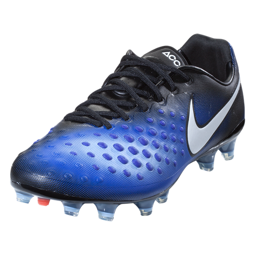 Nike Magista Opus II FG - Black/White/Paramount Blue/Aluminum