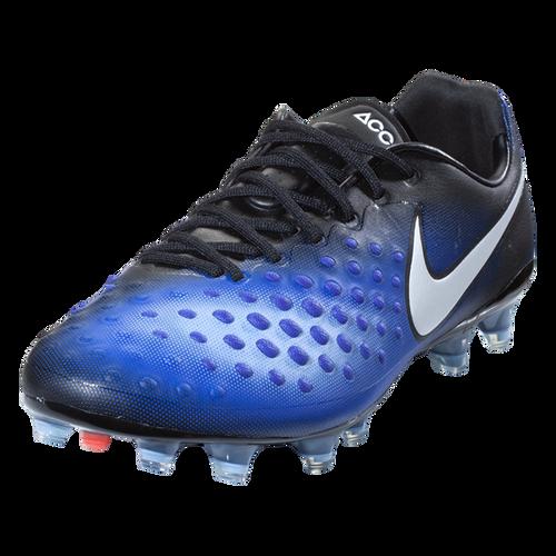 881f08f35905 Nike Magista Opus II FG - Black White Paramount Blue Aluminum - ohp ...
