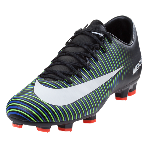 Nike Mercurial Victory VI FG - Black/White/Electric Green (112017)