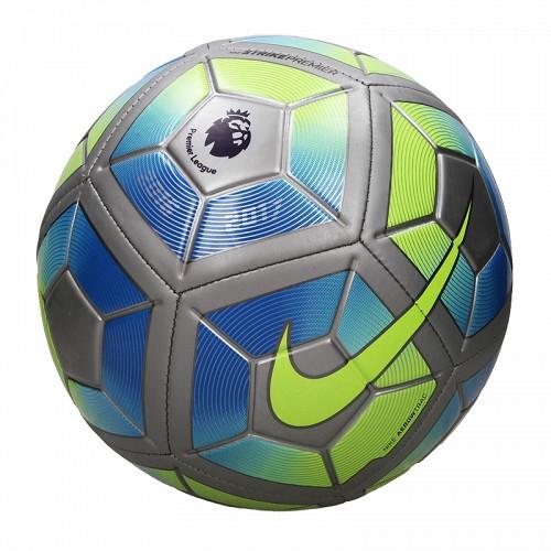 Nike Strike EPL Premier Soccer Ball - Grey/Blue/Green